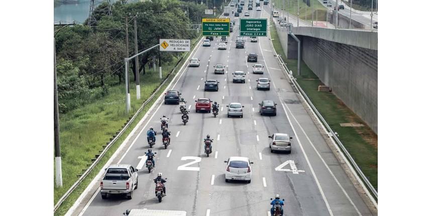 Exclusivo: marginais registram um acidente a cada seis horas