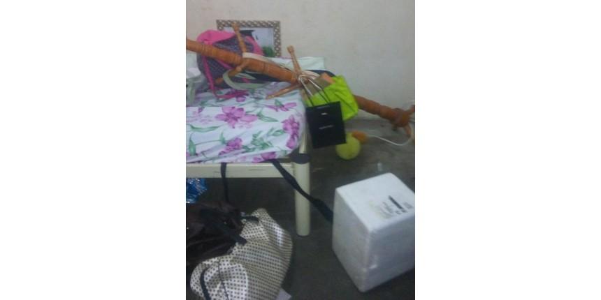 Ladrões invadem casa e tomam até banho durante o furto em Marília