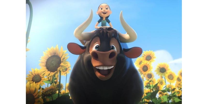 Animação 'O Touro Ferdinando' é o destaque entre as estreias