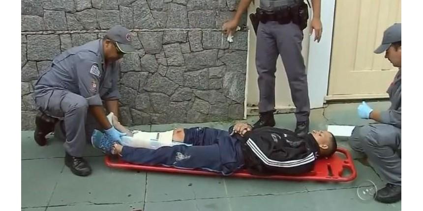 Dupla que sofreu acidente durante fuga da polícia tentou roubar malote com carnês de IPTU