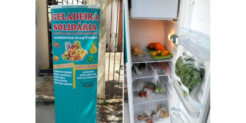 'Geladeira Solidária' de Assis faz um ano: 'Deu mais certo do que imaginava', diz autora