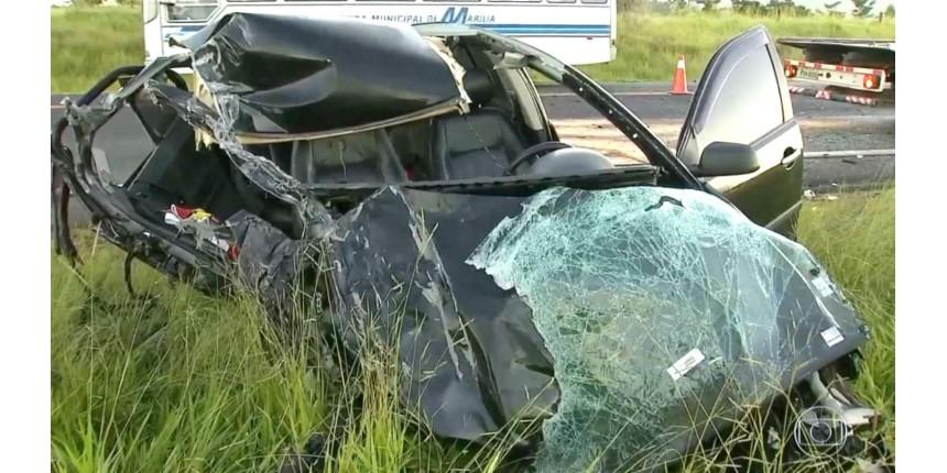 Motorista embriagado provoca acidente com três veículos ao dirigir na contramão
