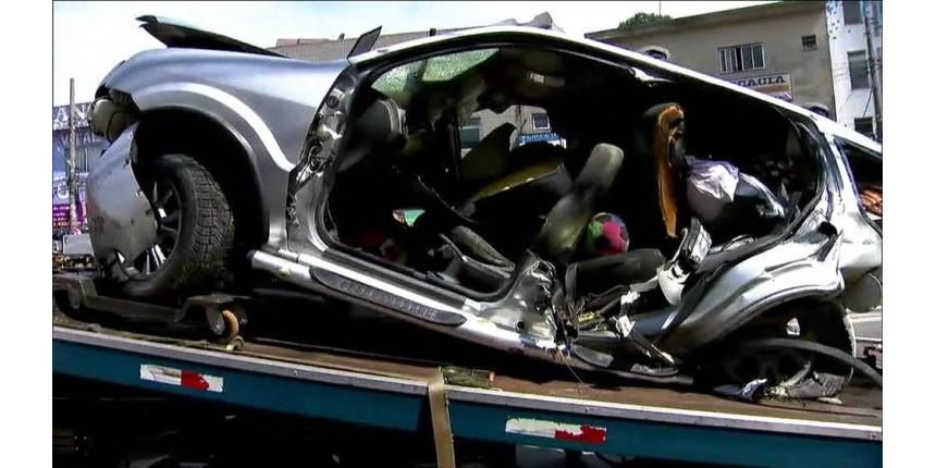 Motorista preso após acidente na Imigrantes dirigia a 180 km/h, diz delegado