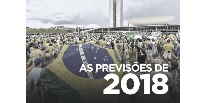 O que esperar do cenário político do Brasil em 2018