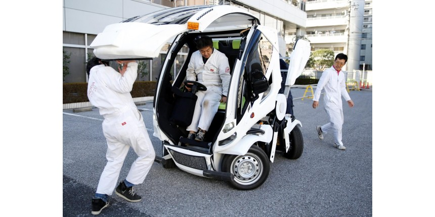 'Transformer' da vida real? Empresa japonesa vende carro dobrável