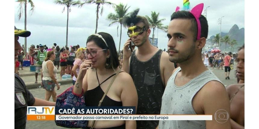 Governador admite falha no planejamento da segurança no carnaval do Rio: 'Não estávamos preparados'