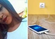 Jovem de 17 anos morre após usar smartphone conectado à...