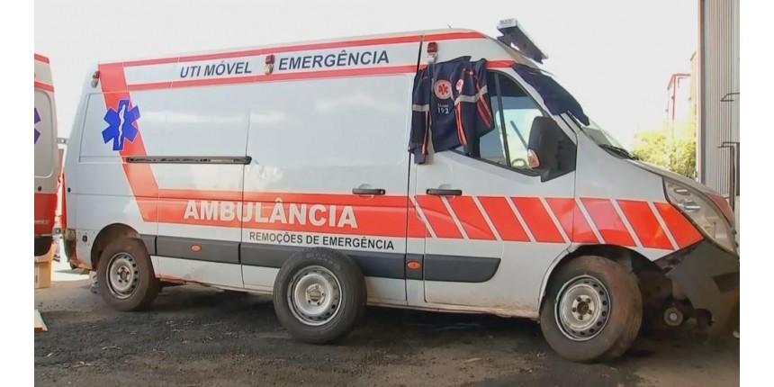 Motorista detido com cigarros do Paraguai em 'UTI móvel' falsa tinha até uniforme