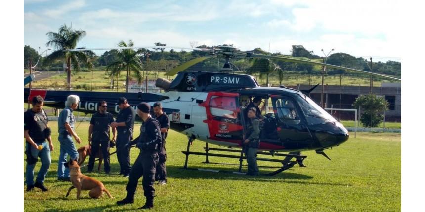 Operação da Polícia Civil prende oito suspeitos de tráfico de drogas