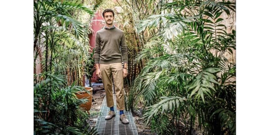 Ele gasta 250 000 reais para manter corredores verdes na cidade