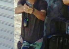 Imagens flagram homem apontando arma para equipe do 'Google...