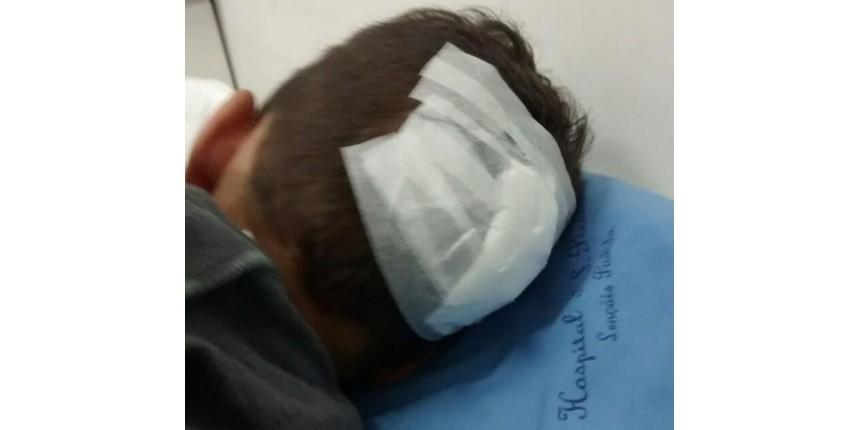 Médicos denunciam violência contra criança com hematomas e corte na cabeça