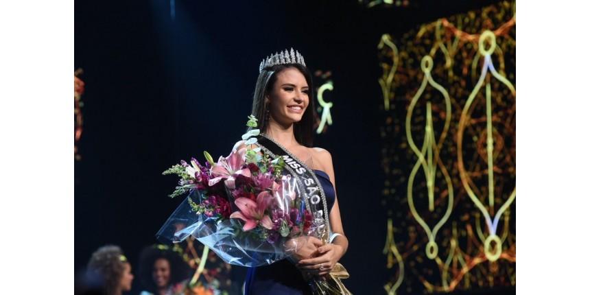 Paula Palhares, de Sumaré, é eleita Miss São Paulo 2018