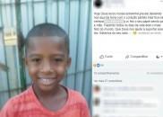 Revolta marca velório de menino morto após picada de escorpião