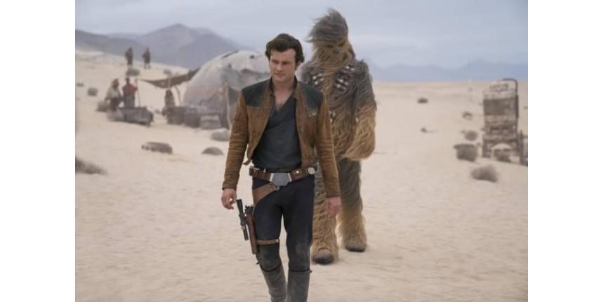 'Han Solo – Uma História Star Wars' é a maior estreia da semana