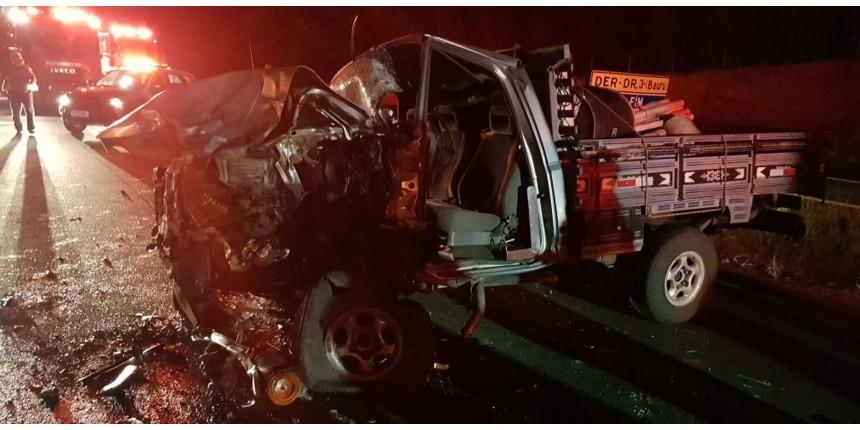 Acidente envolvendo quatro veículos deixa um ferido em rodovia