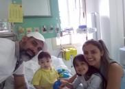 Bebê recebe transplante de coração no dia do aniversário de...
