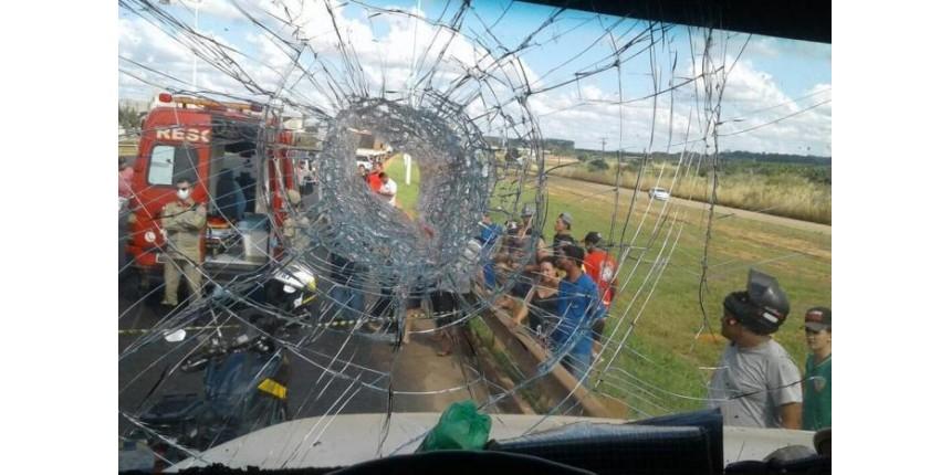 Polícia pede prisão de suspeito de ter matado caminhoneiro com pedrada