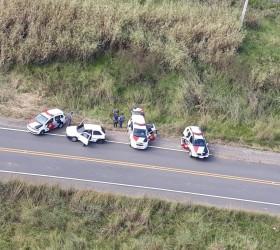 Suspeitos de assaltar agência dos Correios são presos após perseguição