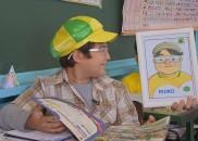 Voluntários se unem para presentear menino que desenhou álbum de...