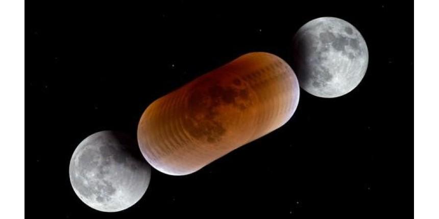 Eclipse mais longo do século terá Lua de sangue e Marte mais perto