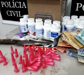 Polícia de Marília prende quatro suspeitos de vender drogas com...