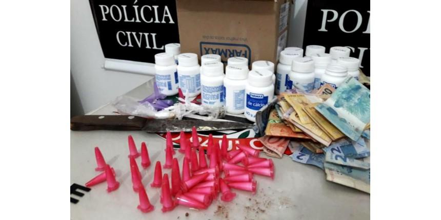 Polícia de Marília prende quatro suspeitos de vender drogas com cartão de crédito