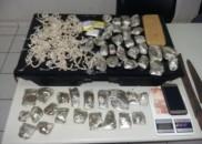 Estudante é detido com mais de mil pedras de crack...