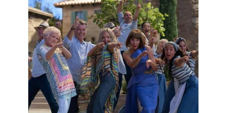 Sequência de 'Mamma Mia!' e 'Ana e Vitória' dominam as estreias