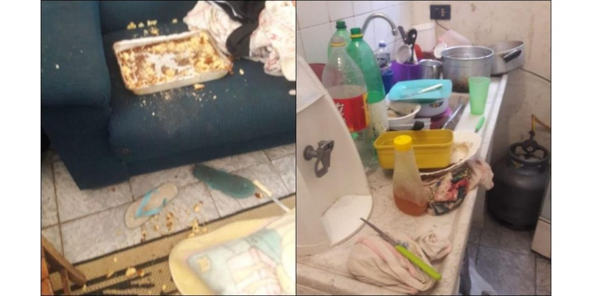 Há dois dias sem comer, irmãos de 4 e 2 anos são resgatados após denúncia