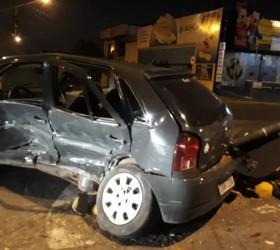 Passageira morre em acidente envolvendo motorista embriagado