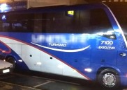 Quadrilha armada ataca ônibus de sacoleiros em Vera Cruz e...