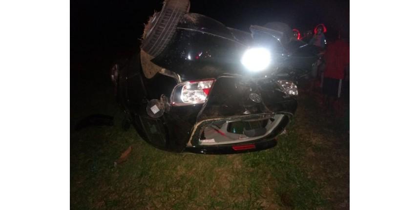 Vereador bêbado provoca acidente e deixa cinco pessoas feridas