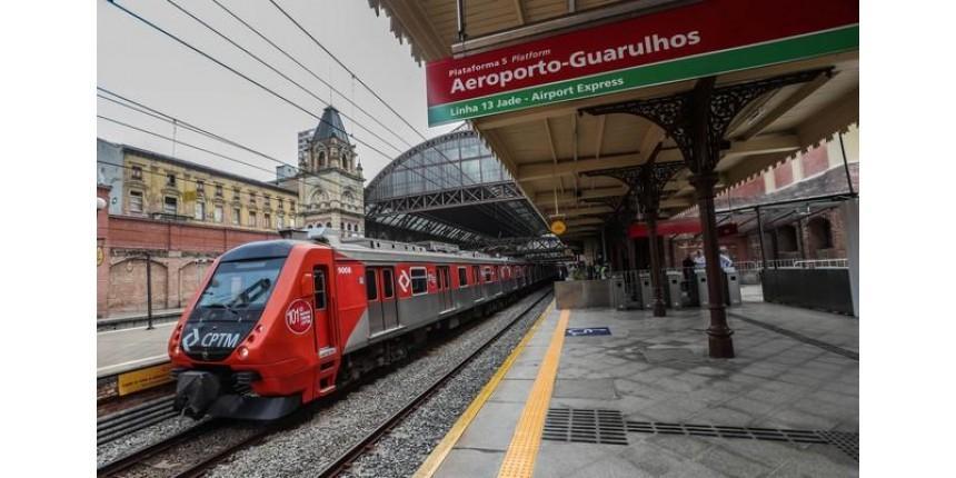 Inicia nesta terça viagens diretas entre a Estação da Luz e o aeroporto de Guarulhos
