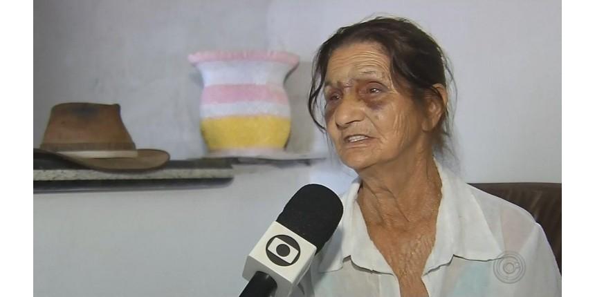 Mãe agredida pelo filho diz que tudo começou por causa de comida: 'Ficou bravo porque não tinha mistura'