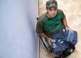 'Temos que reagir', diz PM que ficou paraplégico em...