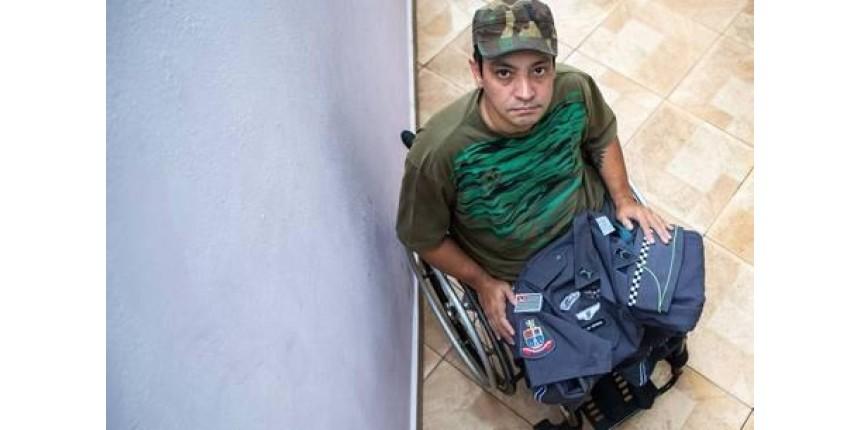 'Temos que reagir', diz PM que ficou paraplégico em tiroteio na folga