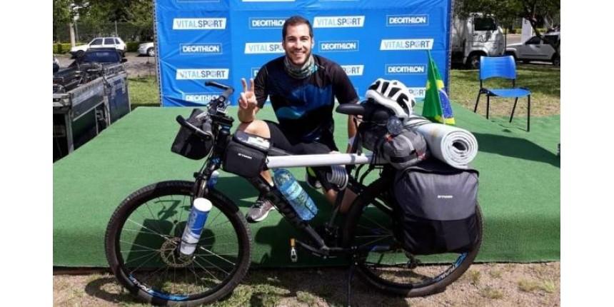 Blogueiro pedalará 3 mil km para ajudar pessoas com deficiência
