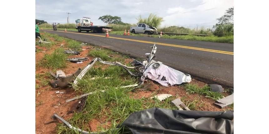 Empresário morre em acidente na rodovia