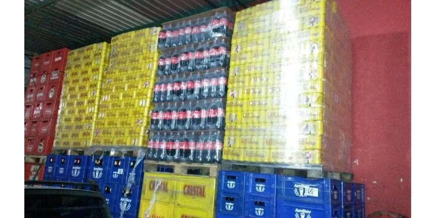Motorista inventa assalto para desviar carga de bebidas avaliada em R$ 160 mil