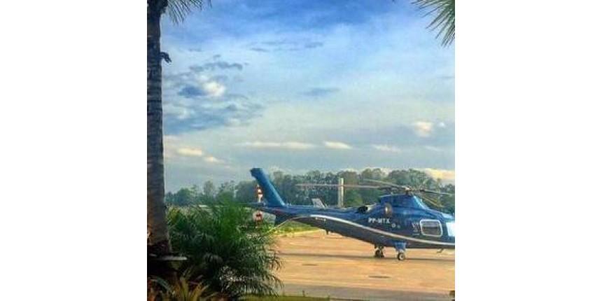 Queda de helicóptero deixa três mortos