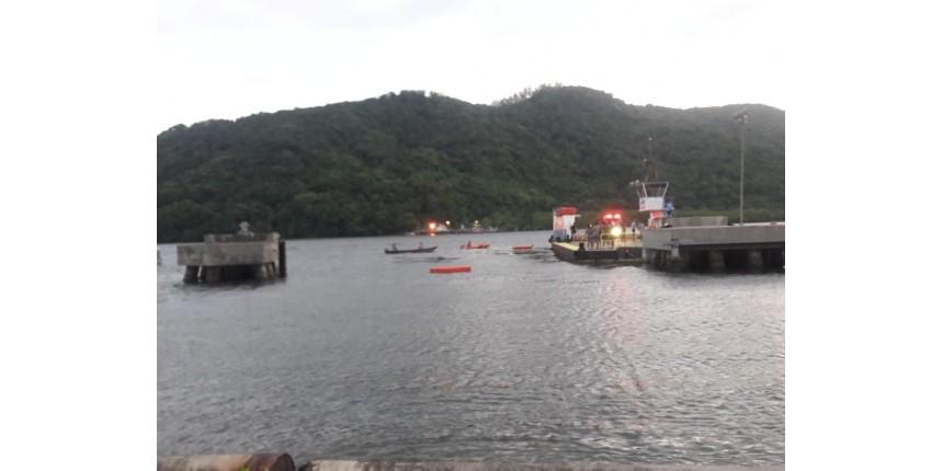 Adolescente morre após carro cair de balsa em travessia no litoral