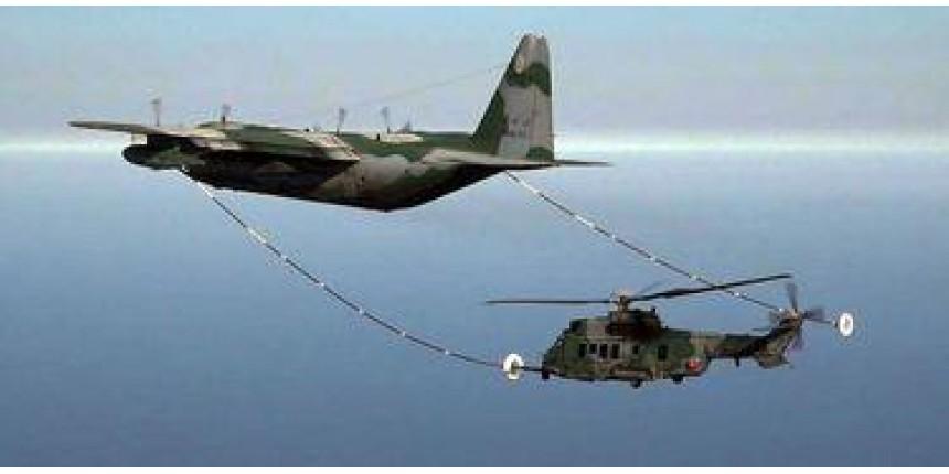 Brasil será 1º país da América do Sul a reabastecer helicóptero em voo
