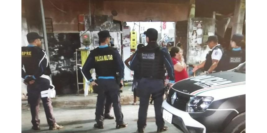 Cinco pessoas são baleadas na calçada de um bar em Fortaleza