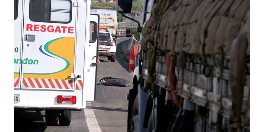 Dois homens morrem vítimas de atropelamento em rodovia