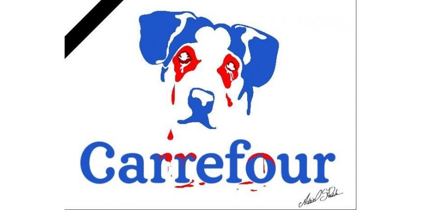 Morte de cachorro em unidade do Carrefour gera onda de protestos
