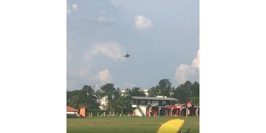 Paraquedista morre durante salto em Boituva; acidente fatal é o segundo em dois dias