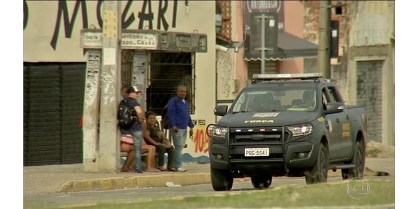 Bando incendeia estação da Cagece no 25º dia de ataques no Ceará
