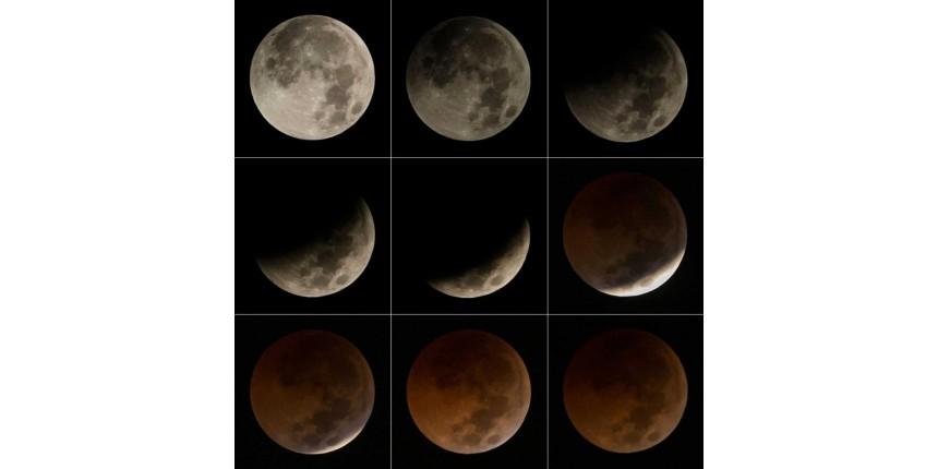 Eclipse com 'superlua' será visível em todo o Brasil; próximo no país será em 2022