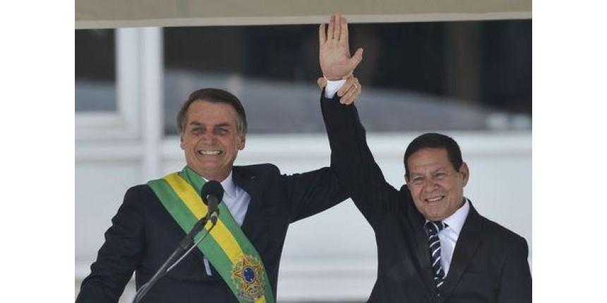 Mourão assume a Presidência do Brasil até Bolsonaro voltar de Davos